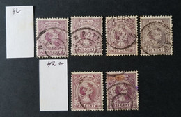 Pays-Bas - Nederland, Timbre(s) Y&T 42 - (O) - 1 Scan(s) - TB - 351 - Gebruikt