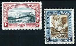 Guayana (Británica) Nº 88/89 Usado - Guayana Británica (...-1966)