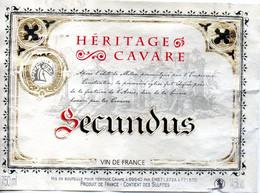 Secundus (héritage Cavare) - Non Classés