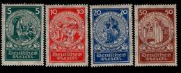 Deutsches Reich 351 - 354 Nothilfe MLH Mint Falz * (1) - Ongebruikt