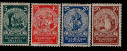 Deutsches Reich 351 - 354 Nothilfe MLH Mint Falz * (3) - Ongebruikt