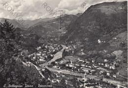 CARTOLINA  S.PELLEGRINO,BERGAMO,LOMBARDIA,PANORAMA,MEMORIA,STORIA,BELLA ITALIA,CULTURA,RELIGIONE,VIAGGIATA 1953 - Bergamo