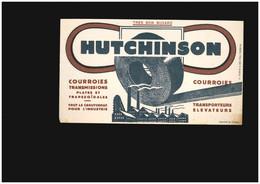 Buvard - Hutchinson Courroies Transporteur élévateur Caoutchouc Industrie - Unclassified