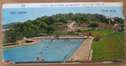 HOTEL MOTEL INN PENSION MOTOR REST GUEST HOUSE BEIT BETH OREN CARMEL MOUNT MATCHBOX MATCH BOX JERUSALEM TEL AVIV ISRAEL - Autres