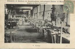 28- Nogent Le Roi - Fenderie Et Ateliers De Constructions Mécaniques Feulen   3 Ajustage - Nogent Le Roi