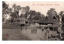 CAMBODGE CSIEM-REAP BONZERIE ANIMEE - Cambodja