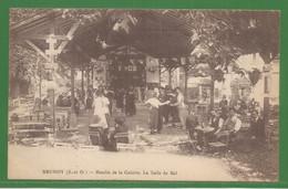 91 - Essonne - Brunoy - Carte Peu Courante : Moulin De La Galette - La Salle De Bal - Brunoy