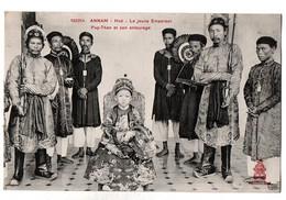 ANNAM HUE LE JEUNE EMPEREUR ET SON ENTOURAGE TRES ANIMEE - Camboya