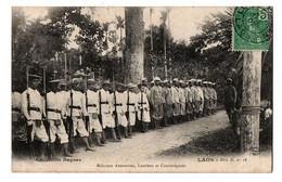 MILICIENS ANAMITES LAOTIENS ET CAMBODGIENS TRES ANIMEE - Cambodja