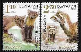 Bulgaria Bulgarien MNH ** 2021  Europa 2021 - Endangered National Wildlife Set  M - 2021