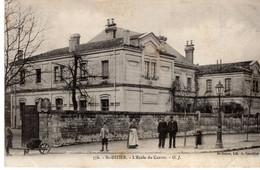52- ST-DIZIER- L'ECOLE DU CENTRE -ANIMEE - Saint Dizier