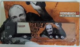 Germany DAF Truck Hornbach Baumarkt - Legenden Stirbt Nicht Im Bett. 24x13x3 Cm. 1:87. Weight=102 Gramms (BOX1) - Autres