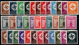 Alemania Imperio Nº 93/104, 116/38. Año 1934/42 - Nuevos