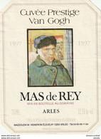 AB. Etiquette De Vins. MAS DE REY. Cuvée Prestige Van Gogh 1997 - Sin Clasificación