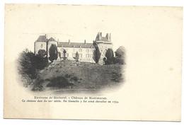 CP PRECURSEUR  DEPT 35 ENVIRONS DE BECHEREL CHATEAU DE MONTMURAN - Bécherel