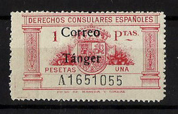 TANGER **143 Nuevo Sin Charnela. Cat.13 € - Spanisch-Marokko