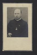 DOODSPRENTJE * FLORIMOND VITAL DE COCK * PASTOOR ERWETEGEM * ST NIKLAAS 1871 * + 1932 * MET FOTO * 2 SCANS - Devotion Images