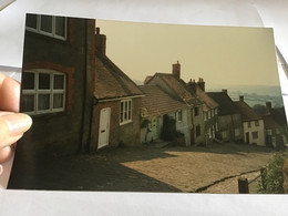 Photo Couleur 1995 Maison Anglaise Angleterre Village - Luoghi