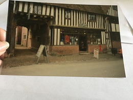 Photo Couleur 1995  Angleterre Royaume Unis Maison Commerce - Luoghi