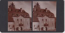 48  Lozère  LA CANOURGUE FRANCE +-17*9CM ESTEREOSCOPICA STEREOSCOPIC Francestereo - Fotos Estereoscópicas