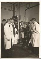 Lausanne, Laboratoire De L'EPFL En 1931-32, Recherche Sur Le Béton, Photo Emile Gos Lausanne (302) Format 12x17 - Luoghi