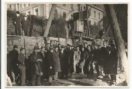 Lausanne, Sainte Luce, Visite De Chantier En 1934, Photo Emile Gos Lausanne (303) Format 12x17 - Luoghi