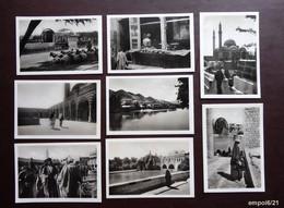 Lot 8 Anciennes Photos Légendées Au Dos : SYRIE Des Années 40 - Luoghi