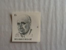 Nr.2293  Ong.  Jean Monnet ( Plaatnummer 3) . - Non Dentelés