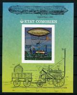 Komoren MiNr. Block 84 B Postfrisch MNH Zeppelin (Zep257 - Isole Comore (1975-...)