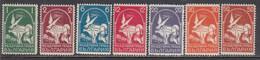 Bulgaria 1931 - Par Avion: Grand Pigeon, YT PA5/11, MNH** - Nuovi