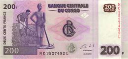♛ CONGO DEMOCRATIC REPUBLIC - 200 Francs 30.06.2013 {Printer Giesecke & Devrient - Germany} UNC P.99 B - Repubblica Democratica Del Congo & Zaire
