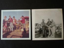 """SANARY (Var) - Lot De 2 Photos """" MARCHE De SANARY """" Année 1964 - Luoghi"""