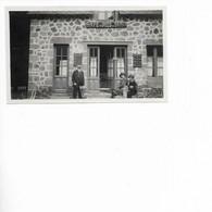 CAFE DU PIED DU SANCY. PHOTO DU 21 SEPTEMBRE 1918. LE PUY DE SANCY. - Luoghi