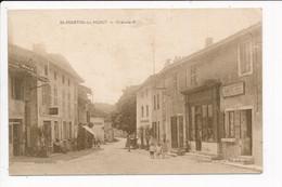 Carte De SAINT MARTIN DU MONT  Grande Rue ( Tabac )  ( Recto Verso ) - Autres Communes