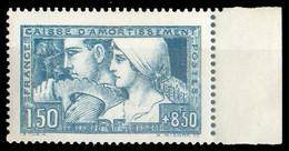 N°252 - 1Fr.50 Caisse D'amortissement Avec Bdf Et Xx. Yv. 260 Euros... - 18375 - Ungebraucht