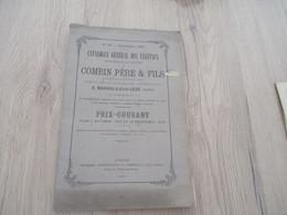 Catalogue Pub Publicité 1867 Horticulture Combin Bagnols Sur Cèze 68p - Publicités