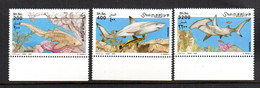 SOMALIA, 2003 - SERIE, SET - SQUALI - SHARKS, MNH** BDF - Somalia (1960-...)