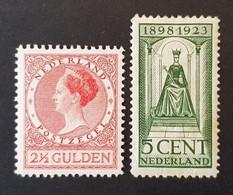 Pays-Bas - Nederland, Timbre(s)  Mh* - (O) - 2 Scan(s) - TB - 390 - Ongebruikt