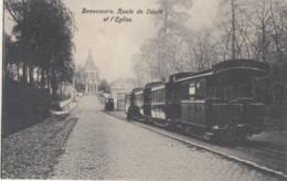 BONSECOURS / ROUTE DE CONDE  / EGLISE / TRAM / TRAMWAYS - Peruwelz