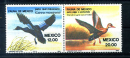1984 MESSICO SET MNH ** 1041/1042 Fauna - Mexiko