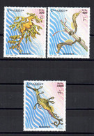SOMALIA, 2001 - SERIE, SET - CAVALLUCCI MARINI - SEAHORSES - MNH** - Somalia (1960-...)