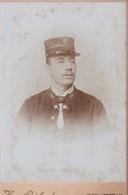 CDV -  FOTOGRAAF  H.GEIRLAND  RUE DE BRUXELLES  GENT   STATION CHEF - Oud (voor 1900)