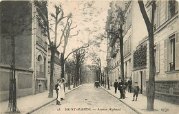 94 SAINT MANDE - Avenue Alphand - Saint Mande