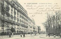 94 SAINT MANDE - La Chaussée Des Etang - Saint Mande