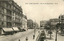 94 SAINT MANDE -  Rue De La République - Saint Mande