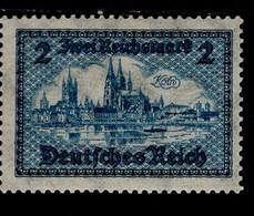 Deutsches Reich 440 Bauwerke Alt Köln MLH * Falz (3) - Ongebruikt