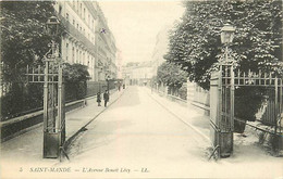 94 SAINT MANDE -  L'Avenue Benoit Levy - Saint Mande