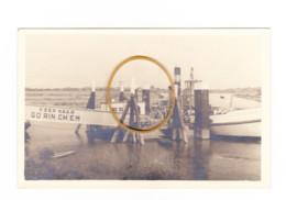 Photo Carte - Embarquement Sur Le Bac, Bateau Vers GORINCHEM ( Gorkum ) 1948 (B286) 1887 - Gorinchem