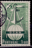 Portugal, 1952, North Atlantic Pact, OTAN, 1e, SW#767, Used - Used Stamps