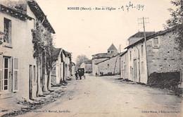 ROSNES - Rue De L'Eglise - Très Bon état - Other Municipalities